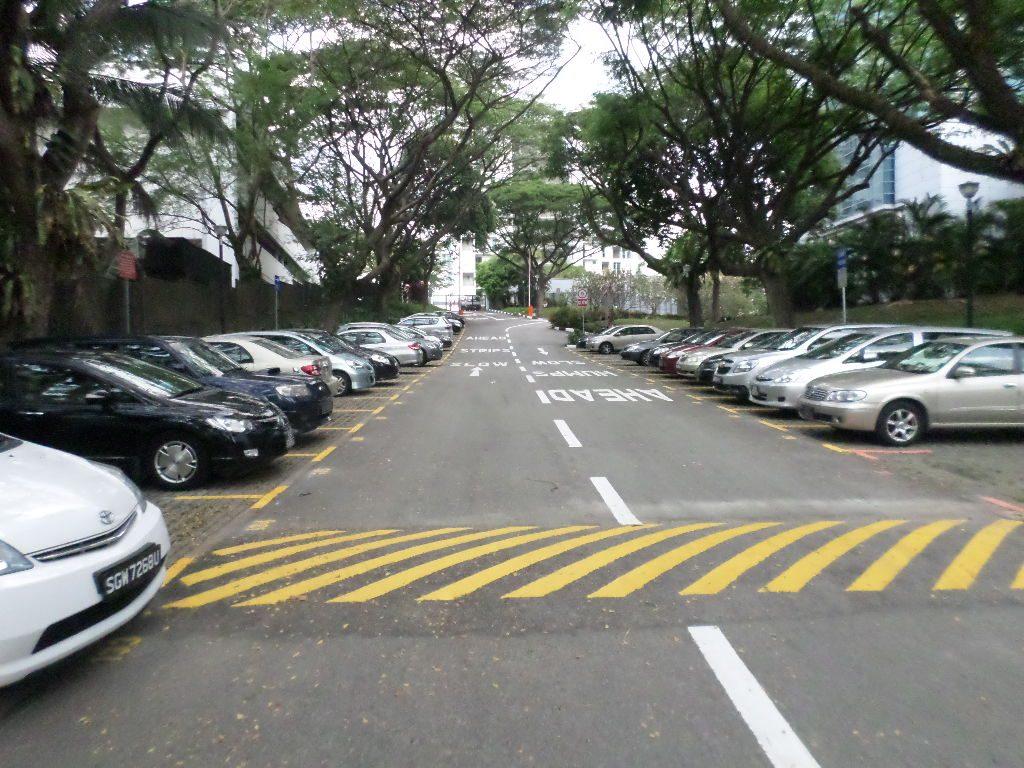 Thermoplastic Road markings Carpark