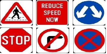 Singapore Traffic Signs